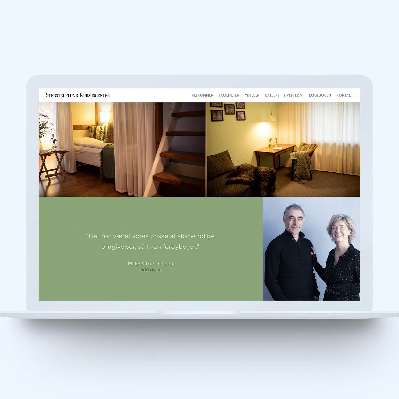 Screenshot af shop hos Stenstruplund lavet af onlineeftersyn.dk